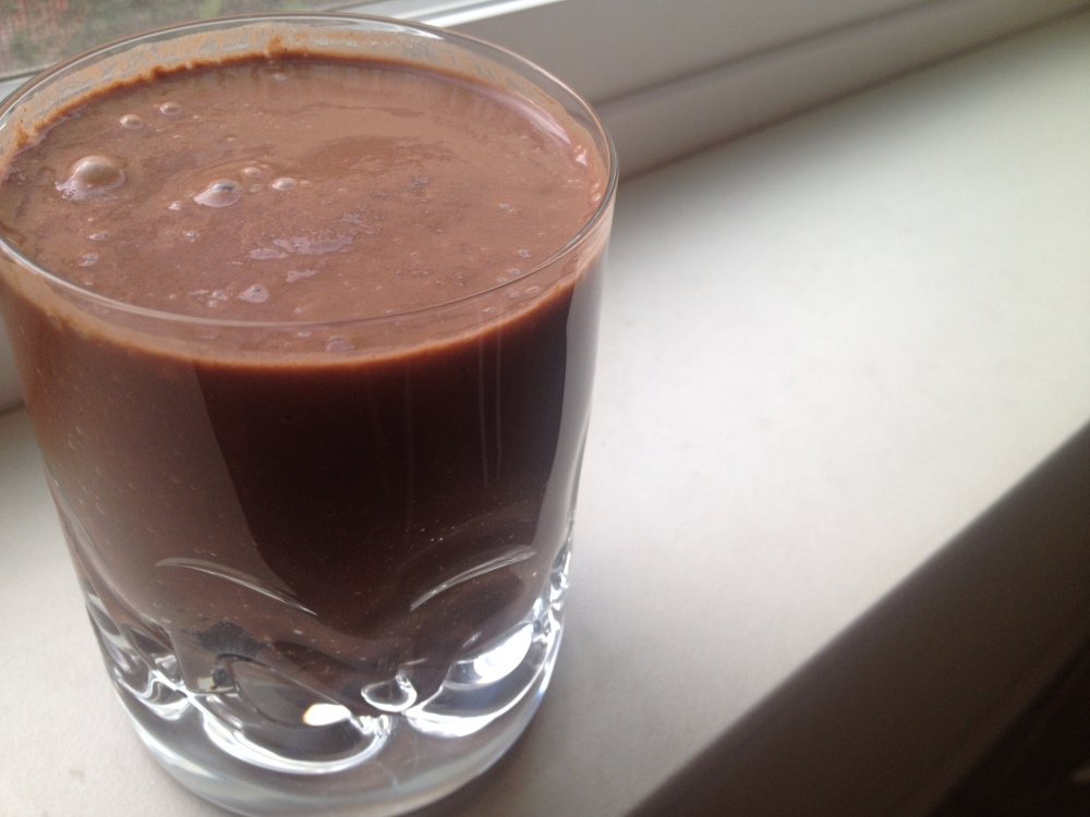 We saved the Cacao Pear as our last juice of the detox and it totally felt like we were cheating! Slightly creamy, sweet, and hit the spot. Oh, and Willow approved!