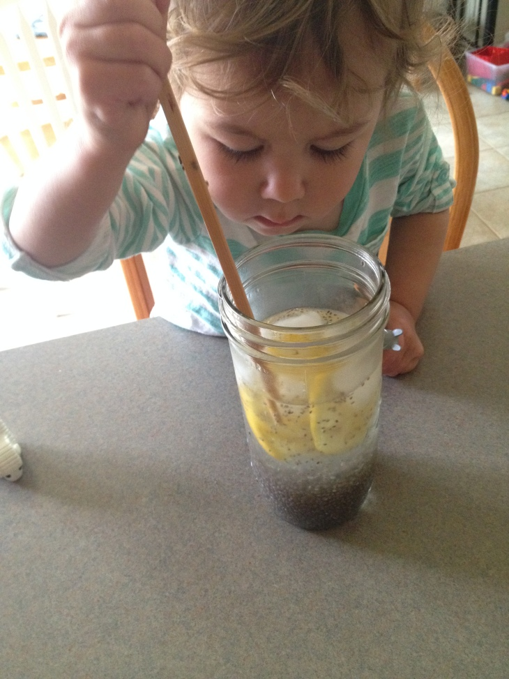 Electrolyte Chia Lemonade