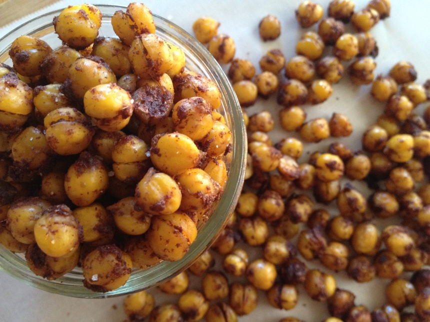 Cinnamon Roasted Chickpeas | Be Sol-Ful