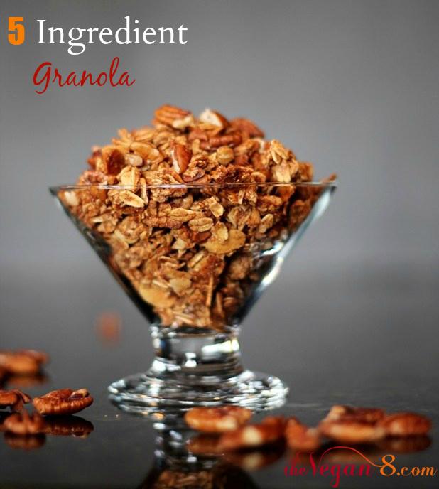 5 Ingredient Granola