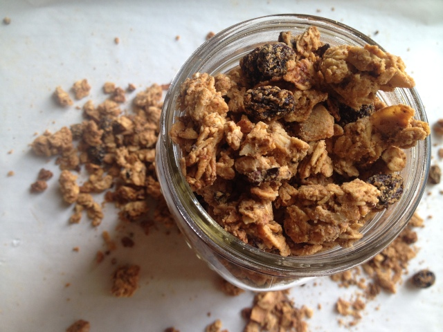 Maple Crunch Granola {Oil-Free} | Be Sol-Ful