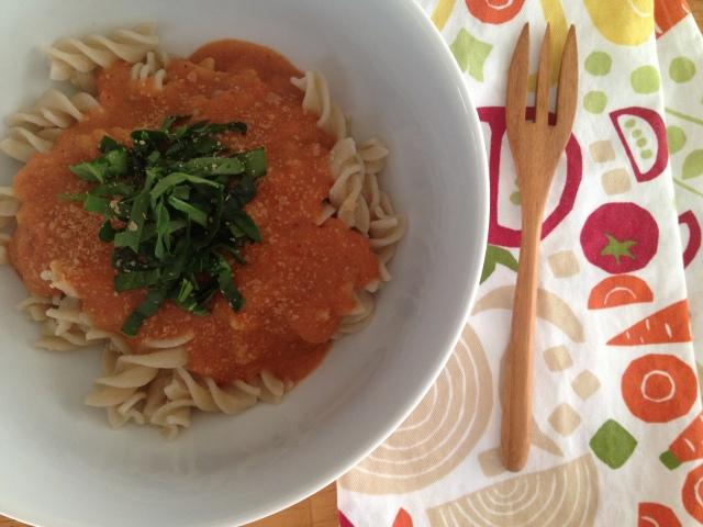 Creamy Tomato Pasta Sauce | Be Sol-Ful