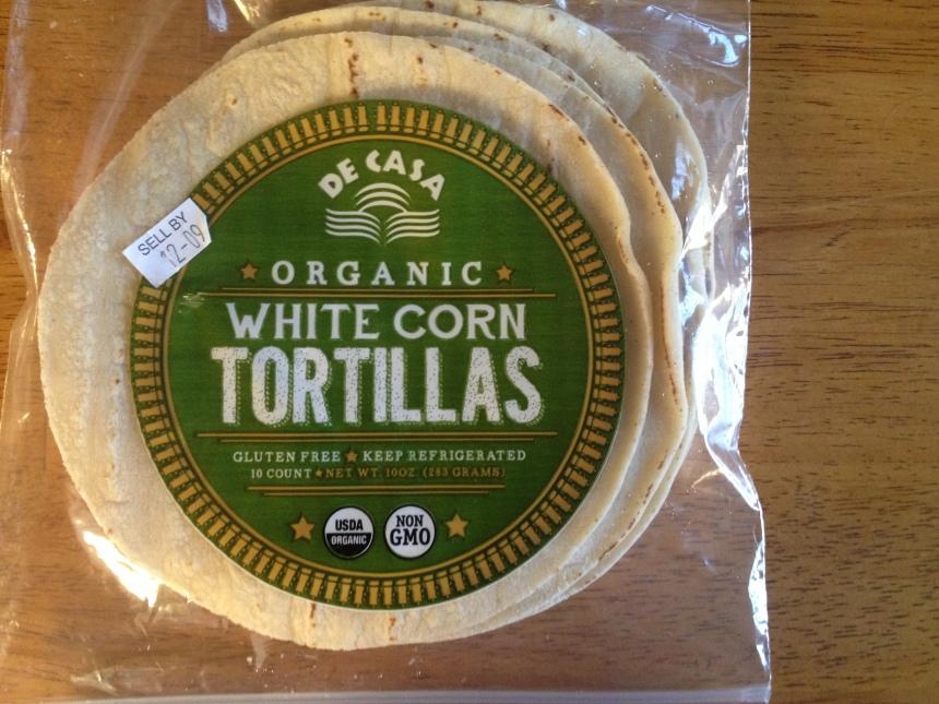De Casa Organic White Corn Tortillas
