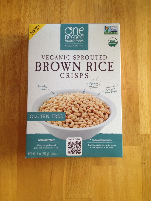 Veganic Sprouted Brown Rice Crisps
