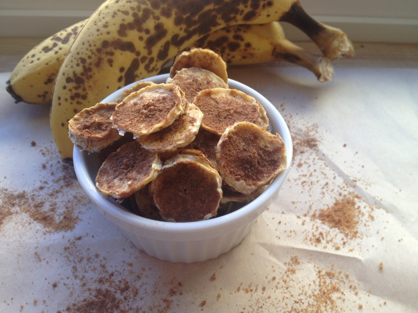 Dehydrated Cinnamon Banana Chips || Be Sol-Ful