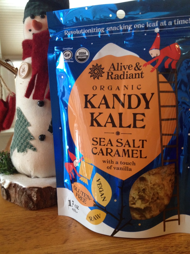 Alive & Radiant Organic Kandy Kale - Sea Salt Caramel