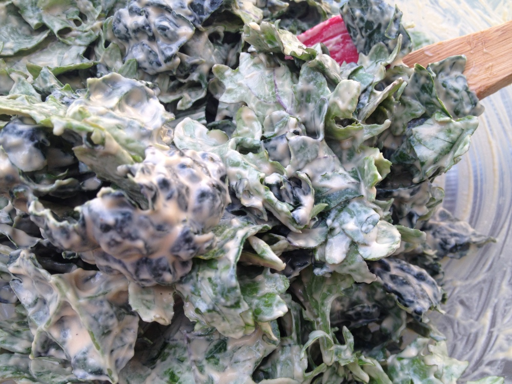 Salted Caramel Kale Chips // Be Sol-Ful