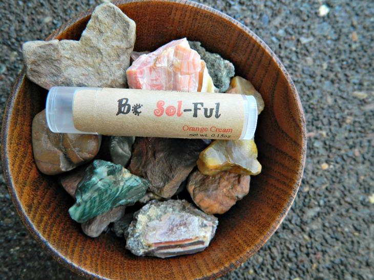 Be Sol-Ful Orange Cream Lip Balm