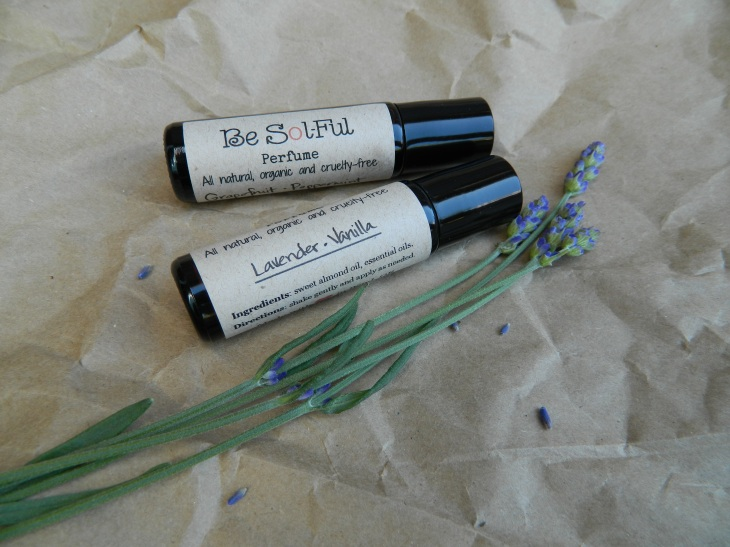 All Natural {VEGAN} Roll-On Perfume // Be Sol-Ful