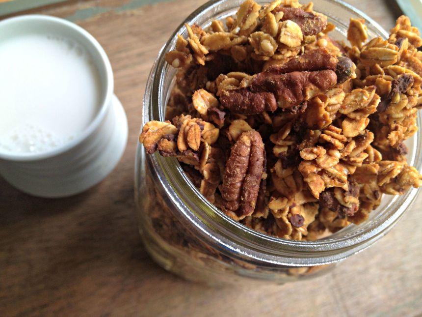 toffee granola2
