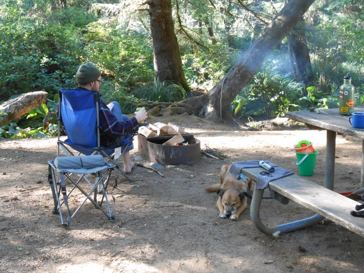 Vegan Camping with a Toddler and Neurotic Dog // Be Sol-Ful