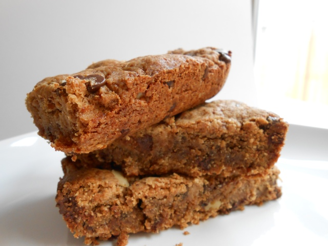 RECIPE: Nutty Cookie Bars