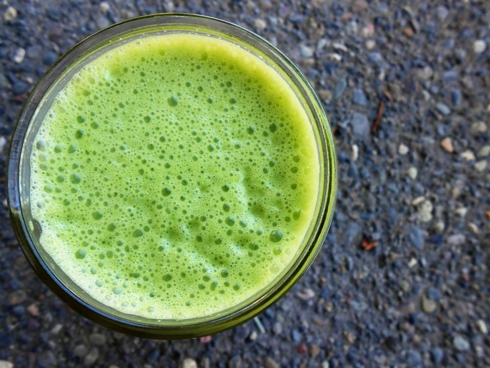RECIPE: Organic Hemp & Green Juice
