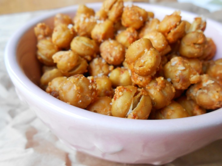 RECIPE: Parmesan Crusted Chickpeas