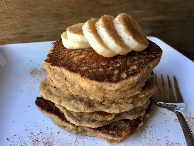 AIP Banana Bread Pancakes