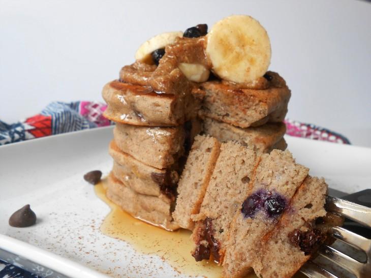 Chai Spiced Buckwheat Pancakes
