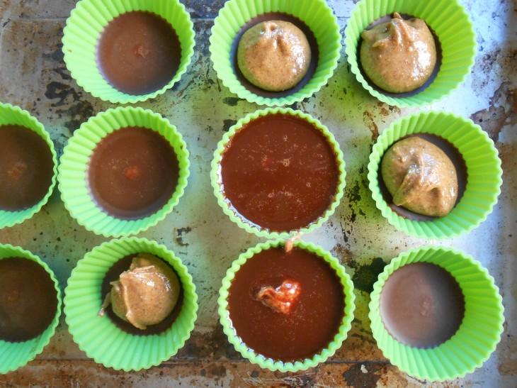 Chocolate Cardamom Cups