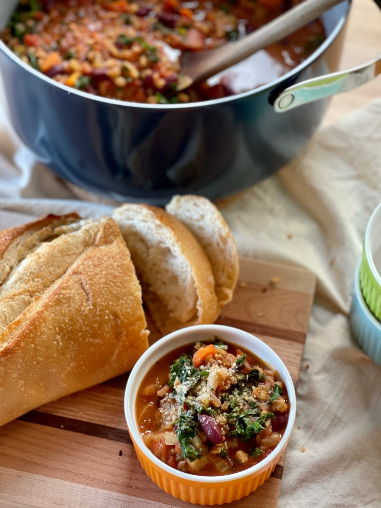One-Pot Hearty Vegetable Soup